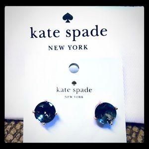 "NWT Kate Spade ""Black Diamond"" Earrings"